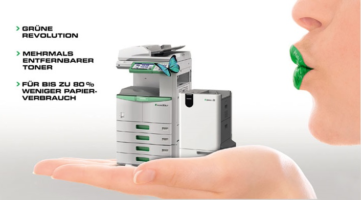 Grüne Revolution - TOSHIBA e-Studio 306LP mit RD30