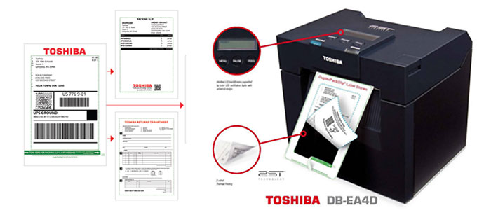 TOSHIBA DB-EA4D + 2ST Labeling-Img