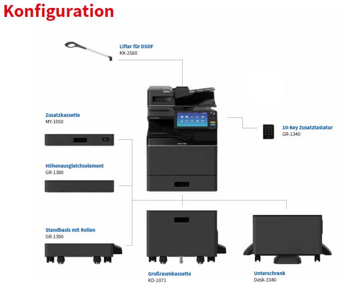 Konfiguration e-Studio330_400AC